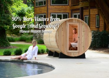 90% More Visitors From Google (And Growing!)